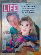 Life Magazine, October 18, 1968 - Paul Newman and Joanne Woodward Lot mg