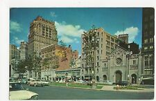 USA, Washington Boulevard, Detroit, Michigan Old Postcard, A814