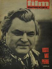 FILMSPIEGEL -  8. MÄRZ 1967 - VISITE MIT PIERRE (FS 234)