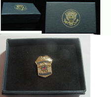 Presidential secret service shield lapel pin  - no signature