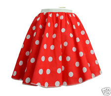 "18"" Childrens Book Week Fancy Dress Childs Circle Rock N Roll Skirt Scarf"