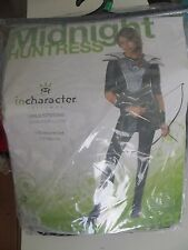 Midnight Huntress Child Costume Katniss Hunger Games Theme Party Halloween LG