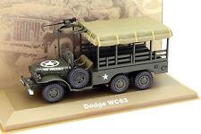 DODGE wc63 carrello MILITARE VERDE SCURO 1:43 Atlas