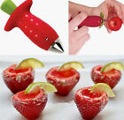 Strawberry Berry Stem Gem Leaves Huller Remover Fruit Corer Kitchen Tool