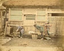 Photo Albuminé Japan Japon Vers 1880