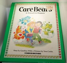 Vintage The Care Bears Hardcover Book A Friend For Frances Tale Story