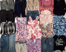 Girl Sz 10 Lot 28 Hi-End School Clothes JUSTICE/ TRACTR/ GAP/ GUESS/ JOES/ BCBG