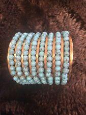 NWOT Aerin Erickson Beamon Blue Turquoise Cuff Bracelet