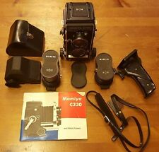 Vintage, Mamiya C330 Professional Camera Bundle (Includes 135/80/55 mm lenses)