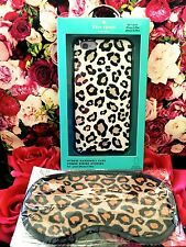 NIB Kate Spade iphone 6+ PLUS 6s+ Case Hybrid Apple Hardshell Leopard Skin +GWP!