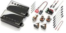 EMG JH SET James Hetfield Black Chrome Humbucker Pickup Set ( NEVER INSTALLED )