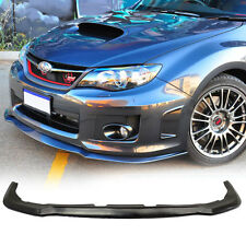 Fit For 11 14 Subaru Impreza WRX STI Front Bumper Lip PU Urethane Under Lip