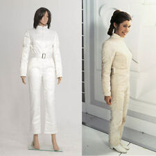 Star Wars A New Hope Princess Leia Organa Weiß Jumpsuit Overall Uniform Cosplay