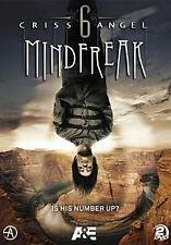 CRISS ANGEL: MINDFREAK SEASON 6 (2PC) - DVD - Region 1 - Sealed