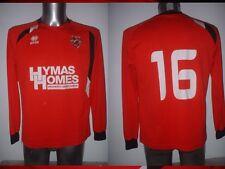 AFC Mansfield Player Matchworn Shirt Large Jersey Football Soccer Errea Top 16