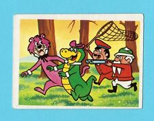 Snagglepuss & Wall E Gator Vintage 1981 Hanna Barbera Cartoon Card from Spain