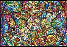 Disney All Characters  266 pcs Jigsaw Puzzle Stained Glass Art Type