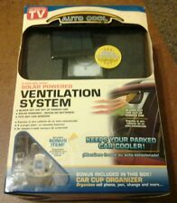 Solar Powered Car Ventilation System