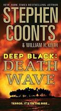 Death Wave-Stephen Coonts-Deep Black series #9-large paperback-Combined Shipping