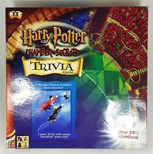 Harry Potter & the Chamber of Secrets trivia game JK Rowling Mattel 2002 EUC