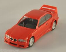 HERPA BMW M3 GTR rosso modello auto per Plastico diorama carro bisarca H0 1:87