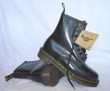 Vintage Dr.Martens Youth Navy Rub Off 8 Eyelet Boot US 5 MADE IN ENGLAND