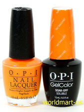 OPI GELCOLOR UV/LED FIJI Collection Matching Gel & Infinite Or Gel & Nail Polish