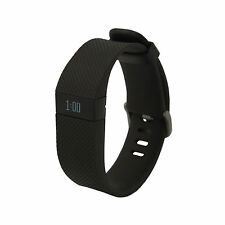 Fitbit Charge HR Activity, Heart Rate,  Sleep Caller ID Pedometer  Black Large