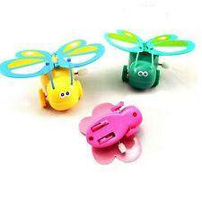 1 X Clockwork Butterfly Kids Children Toddler Wind-up Butterfly Walking Toy Cute