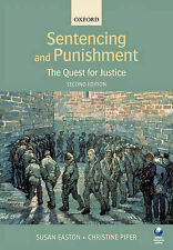 Sentencing and Punishment: The Quest for Justice by Susan Easton, Christine...