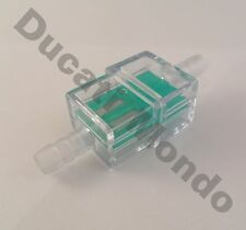 6mm square inline fuel filter for motorcycle motorbike moped scooter trials MX