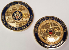 """USSS United States Secret Service Liaison Division 1.75"""" - NEW MINTING"""