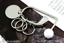 Golf Keyring in Box NEW Fob Key Chain Ring