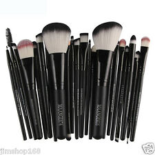 22pcs Kabuki Make Up Brushes Cosmetic Eye Shadow Powder Foundation Brush Set BK