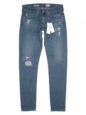 $245 NEW AG Adriano Goldschmied The Nikki - Relaxed Skinny in 7 Years Mended 26R