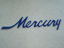 Mercury Script badge emblem Wall Sign