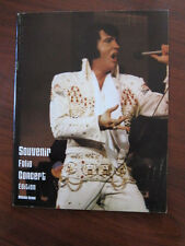 ELVIS PRESLEY 1977 Concert program