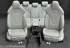 Audi RS4 ( A4 S4 ) 8K Leder Lederausstattung Ledersitze grau Sportsitze Recaro