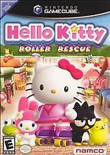 Hello Kitty: Roller Rescue (Nintendo GameCube, 2005) USED WITH MANUAL GC FREE SH