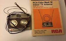 Vintage RCA Color Mark lll Indoor TV Antenna w/ Original Box No Manual