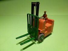 DINKY TOYS 14C CONVENTRY CLIMAX FORK LIFT TRUCK - RARE SELTEN - GOOD CONDITION