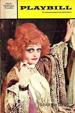 "Angela Lansbury ""DEAR WORLD"" Jerry Herman / Jane Connell 1968 Preview Playbill"