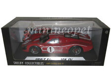 SHELBY COLLECTIBLES 423 1967 FORD MK IV LE MAN 24 HOUR WINNER 1/18 #1 RED