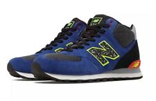 NEW BALANCE 574 Outside In Mid Blue with Black & Red MLM574OB Mens Size 16