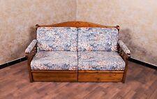 Voglauer Sofa Couch Landhaus Stil Schlafsofa Ausziehsofa Bettsofa Massiv Natur