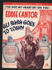 I've Got My Heart Set On You  Eddie Cantor 1937 Ali Baba Goes To Town