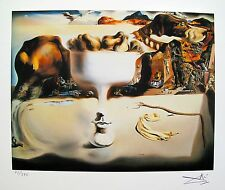Salvador Dali APPARITION OF FACE Facsimile Signed & Numbered Giclee