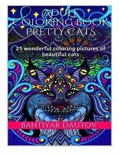 Adult Coloring Bokok Pretty Cats: 25 wonderful coloring pictures of pretty cats