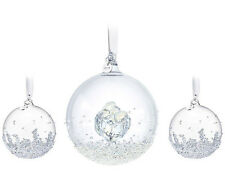 Authentic Swarovski Christmas Ball Ornament Set 2016 5223282