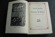 Contes Drolatiques-Droll Stories by Honore de Balzac-Bibliophilist Society-Book.